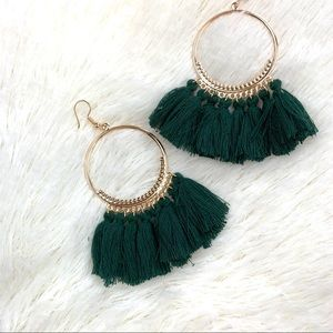 Jewelry - 🍁 Boho fashion earrings tassel colorful dangle